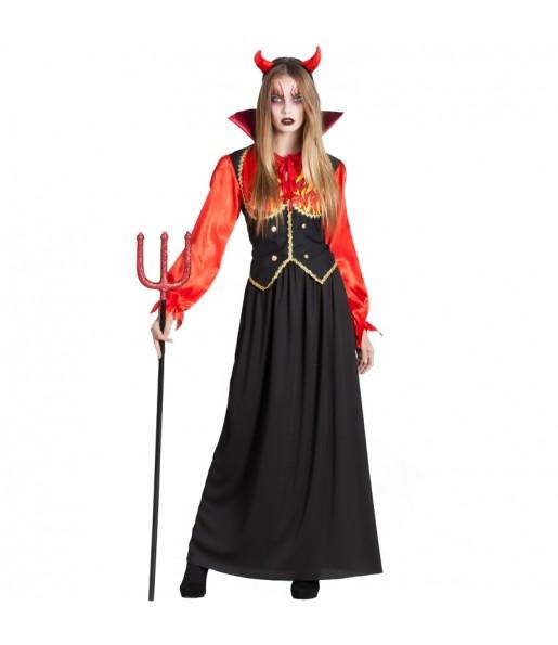 Costume Diavolessa Inferno donna per una serata ad Halloween