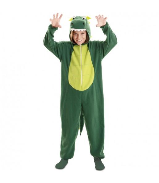 Costume da Drago Verde per bambino