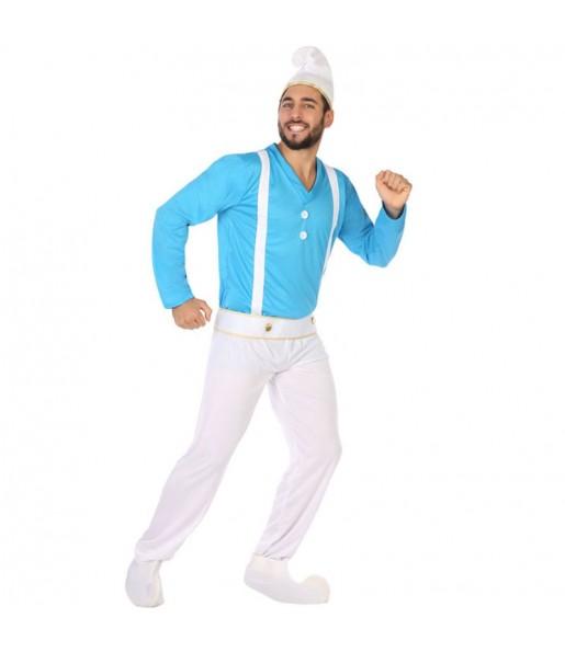 Costume da Gnomo Blu per uomo