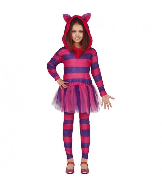 Travestimento Gatto del Cheshire bambina che più li piace