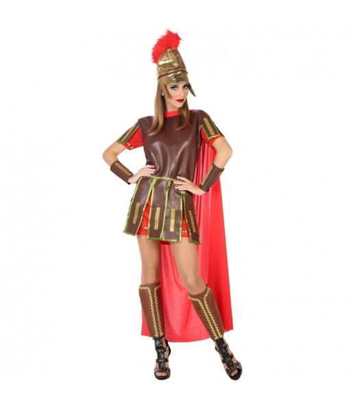 Travestimento Guerriera Romana donna per divertirsi e fare festa