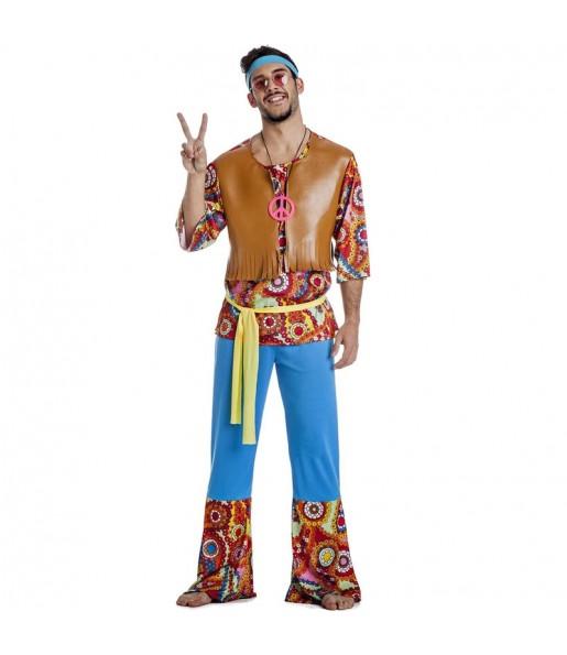 Costume da Hippie Happy per uomo