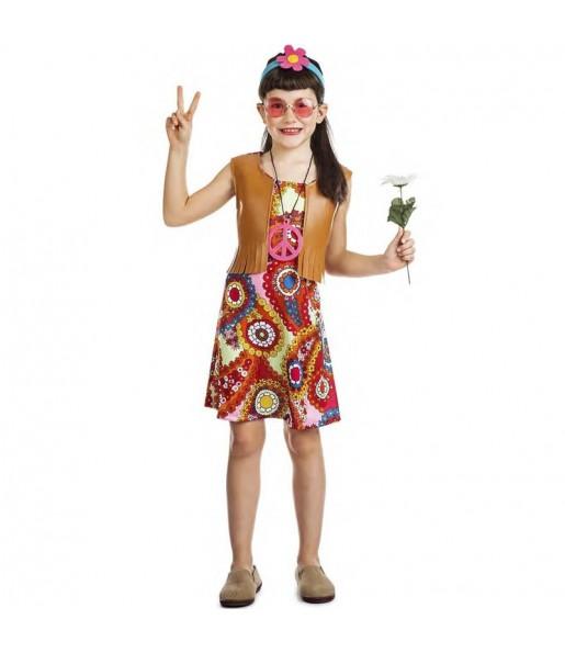 Costume da Hippie Happy per bambina