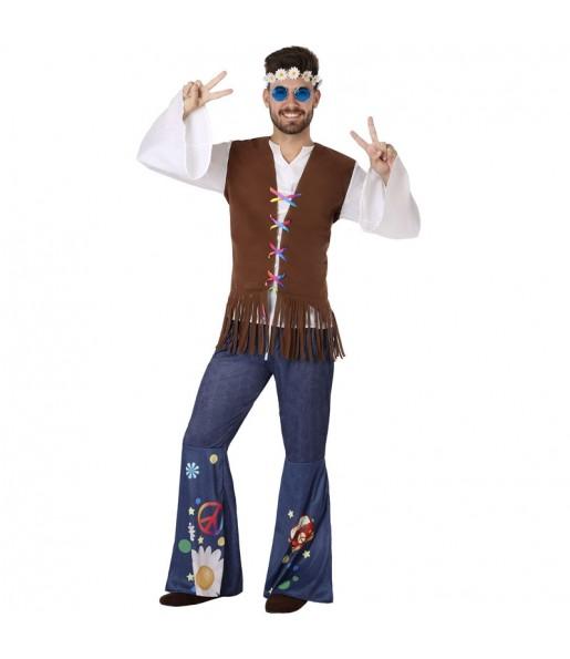 Travestimento Hippie anni Sessanta adulti per una serata in maschera