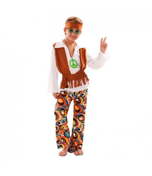 Travestimento Hippie Multicolore bambino che più li piace