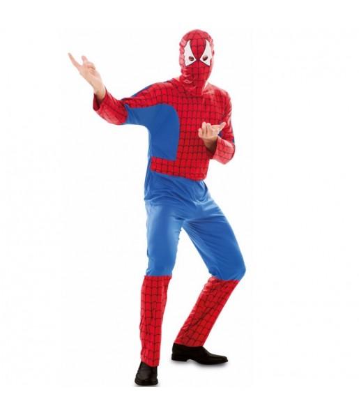 Travestimento Spider-Man economico adulti per una serata in maschera