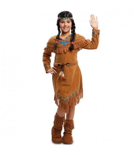 Travestimento Indiano americana bambina che più li piace