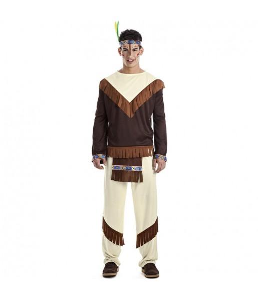 Costume da Indiano Tahoe per uomo