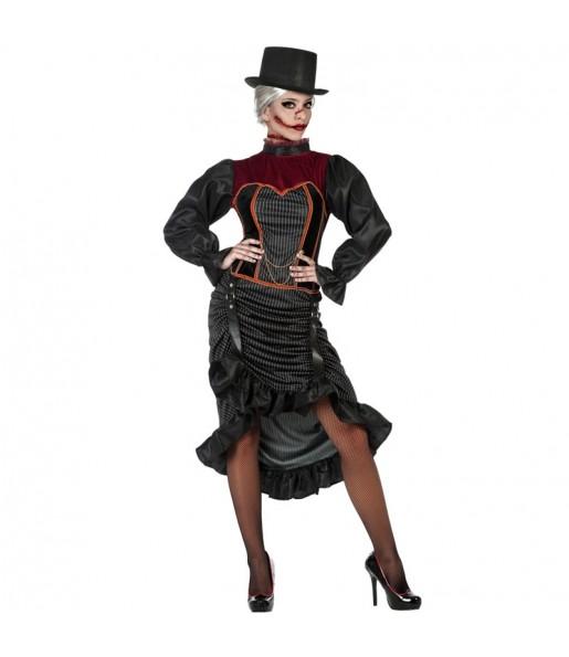 Costume Jack lo Squartatore donna per una serata ad Halloween