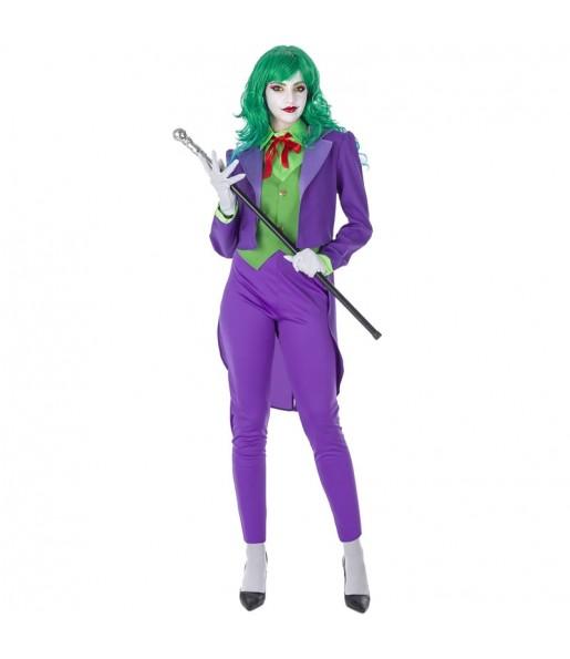Costume Joker Villain donna per una serata ad Halloween