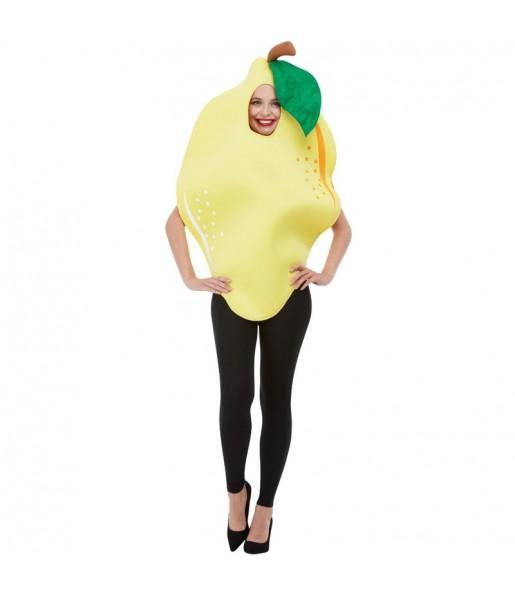 Travestimento Limone donna per divertirsi e fare festa