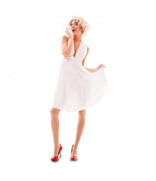 Travestimento Marilyn Monroe donna per divertirsi e fare festa