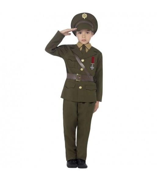 Travestimento Ufficiale Militare bambino che più li piace
