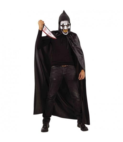 Costume da Pagliaccio incappucciato per uomo