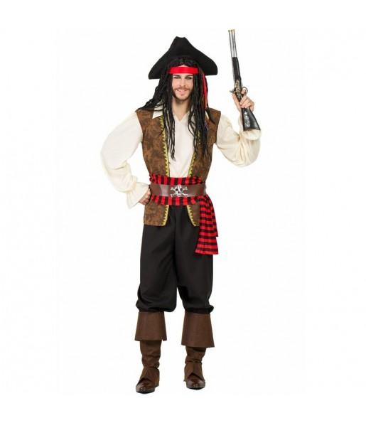 Costume da Pirata d'alto mare per uomo