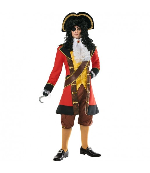 Costume da Pirata Capitan Uncino per uomo