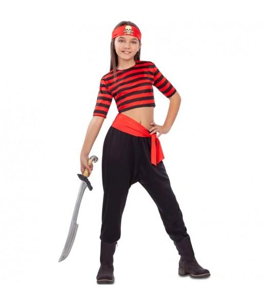 Travestimento Pirata del Tesoro bambina che più li piace