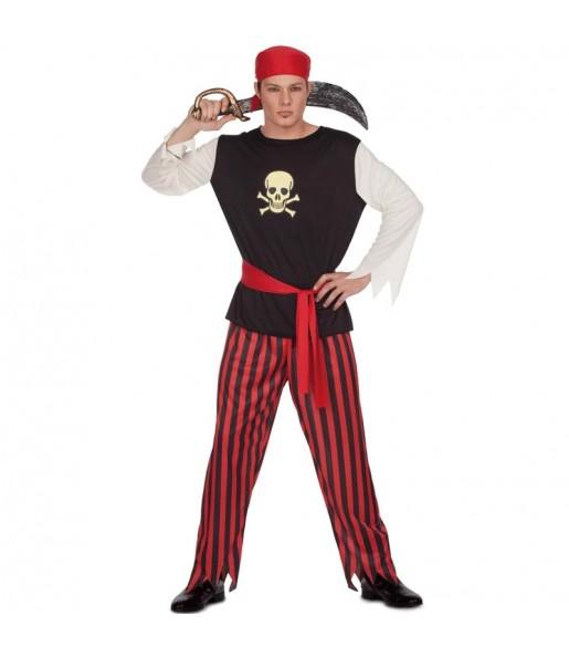 Travestimento Pirata del Tesoro adulti per una serata in maschera