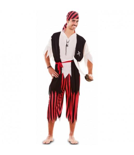 Travestimento Pirata Avventuriero adulti per una serata in maschera