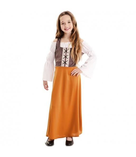 Costume da Taverniere Medievale per bambina