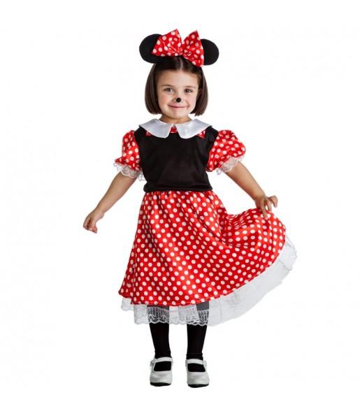Travestimento Topolina Minnie Mouse bambina che più li piace
