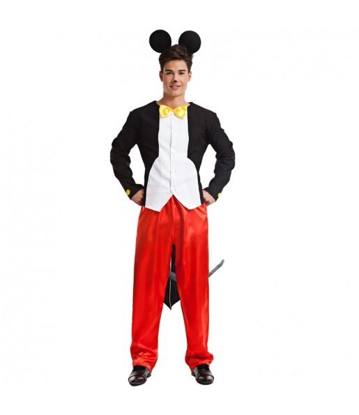Travestimento Topolino Mickey Mouse adulti per una serata in maschera