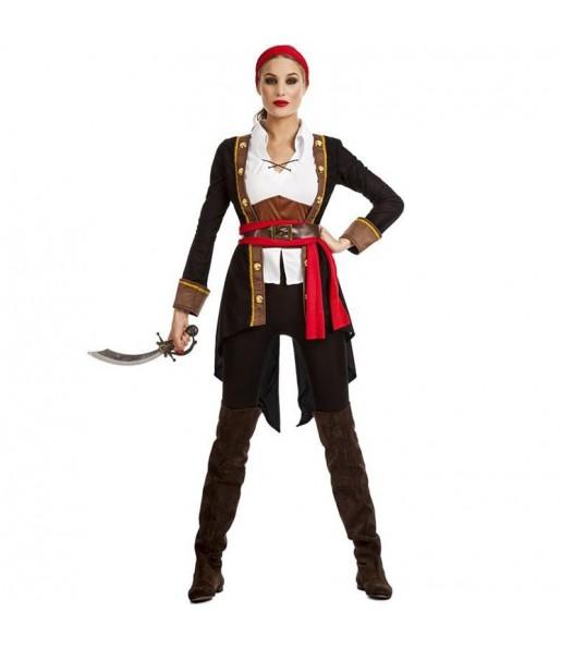 Costume da Regina dei pirati per donna