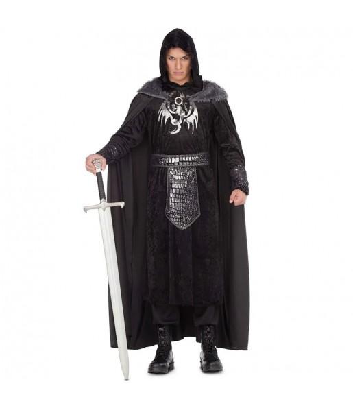 Travestimento Jon Snow Game Thrones adulti per una serata in maschera del Medievo