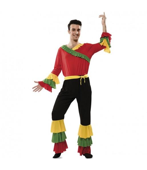 Costume da Rumba colorato per uomo