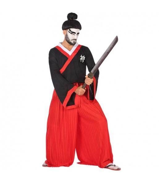 Travestimento Samurai adulti per una serata in maschera
