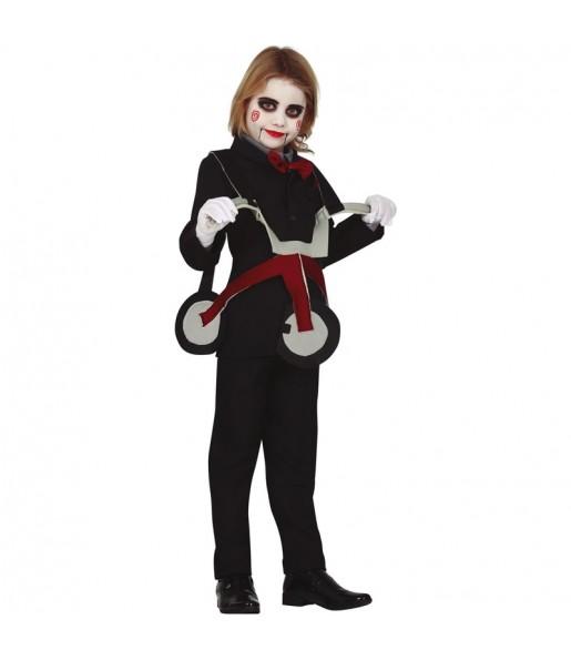 Costume da Saw con triciclo per bambino