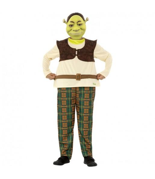 Travestimento Shrek Deluxe bambino che più li piace