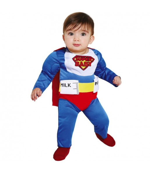 Costume da Superbaby per neonato