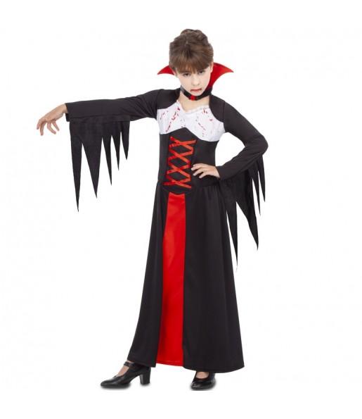 Vestito Vampira sanguinante bambine per una festa ad Halloween