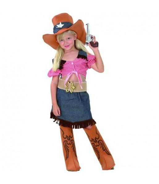 Travestimento Cowgirl bambina che più li piace