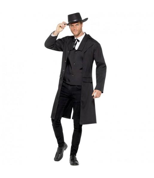 Travestimento Cowboy Cacciatore di Taglie adulti per una serata in maschera