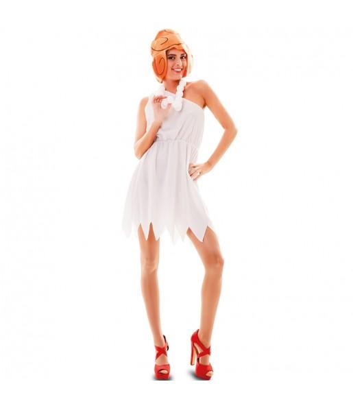 Travestimento Wilma Flintstones donna per divertirsi e fare festa