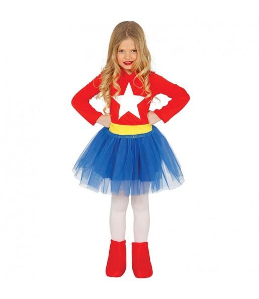 Travestimento Wonder Woman bambina che più li piace