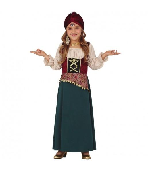 Costume da Zingara terrore per bambina