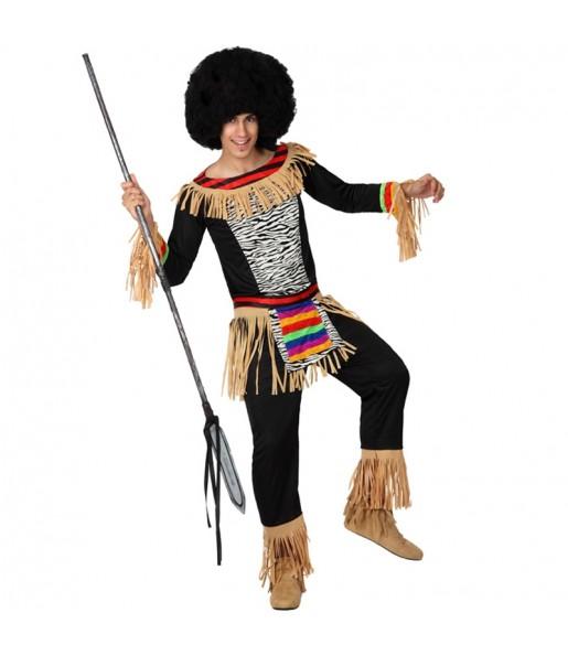 Travestimento Zulu adulti per una serata in maschera