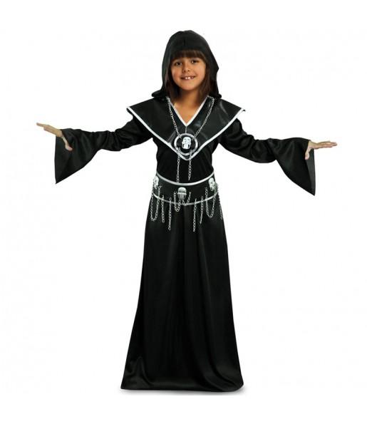 Vestito Boia della Morte bambine per una festa ad Halloween