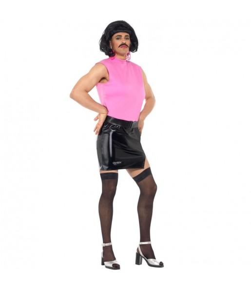 Travestimento Freddie Mercury I want to break free adulti per una serata in maschera