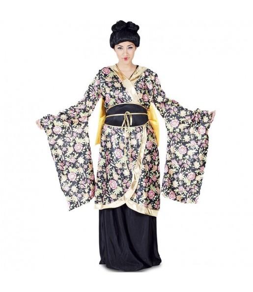 Travestimento Geisha Giapponese donna per divertirsi e fare festa