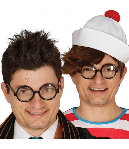 I più divertenti Occhiali studente per feste in maschera