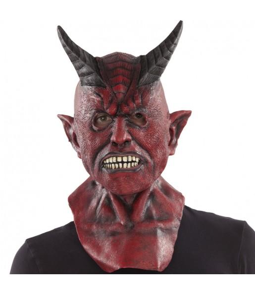 Maschera demone infernale per poter completare il tuo costume Halloween e Carnevale
