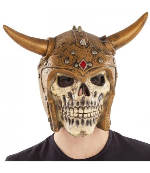 Maschera scheletro vichingo per poter completare il tuo costume Halloween e Carnevale