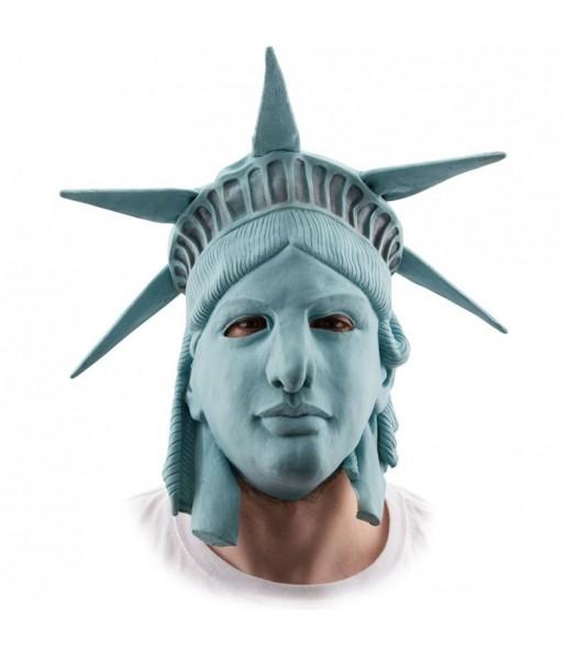 Maschera The Purge Statua della libertà per poter completare il tuo costume Halloween e Carnevale