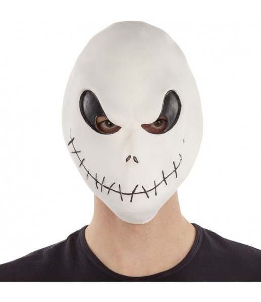 Maschera Jack Skellington per poter completare il tuo costume Halloween e Carnevale