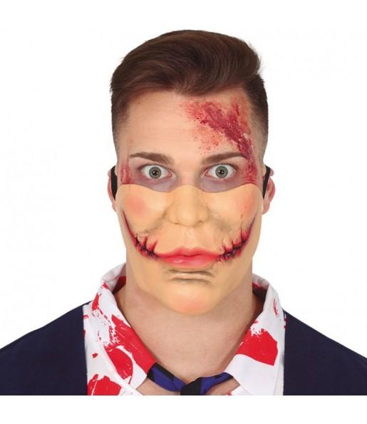 Maschera Joker Bocca Tagliata