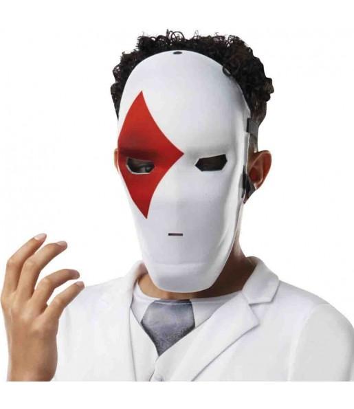 Maschera Wild Card Red di Fortnite per poter completare il tuo costume Halloween e Carnevale